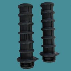 Crépines L.100mm 3/4'' pour filtre à sable Astralpool (x2)