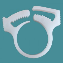 Collier blanc (attache) tentacule 180/280/380