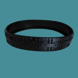 Pneu (bandage) avant noir Zodiac Vortex 3 et 4