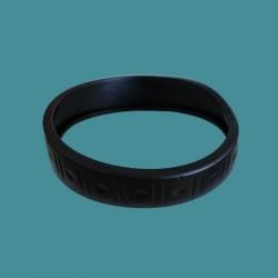 Pneu (bandage) arrière noir Zodiac Vortex 3 et 4