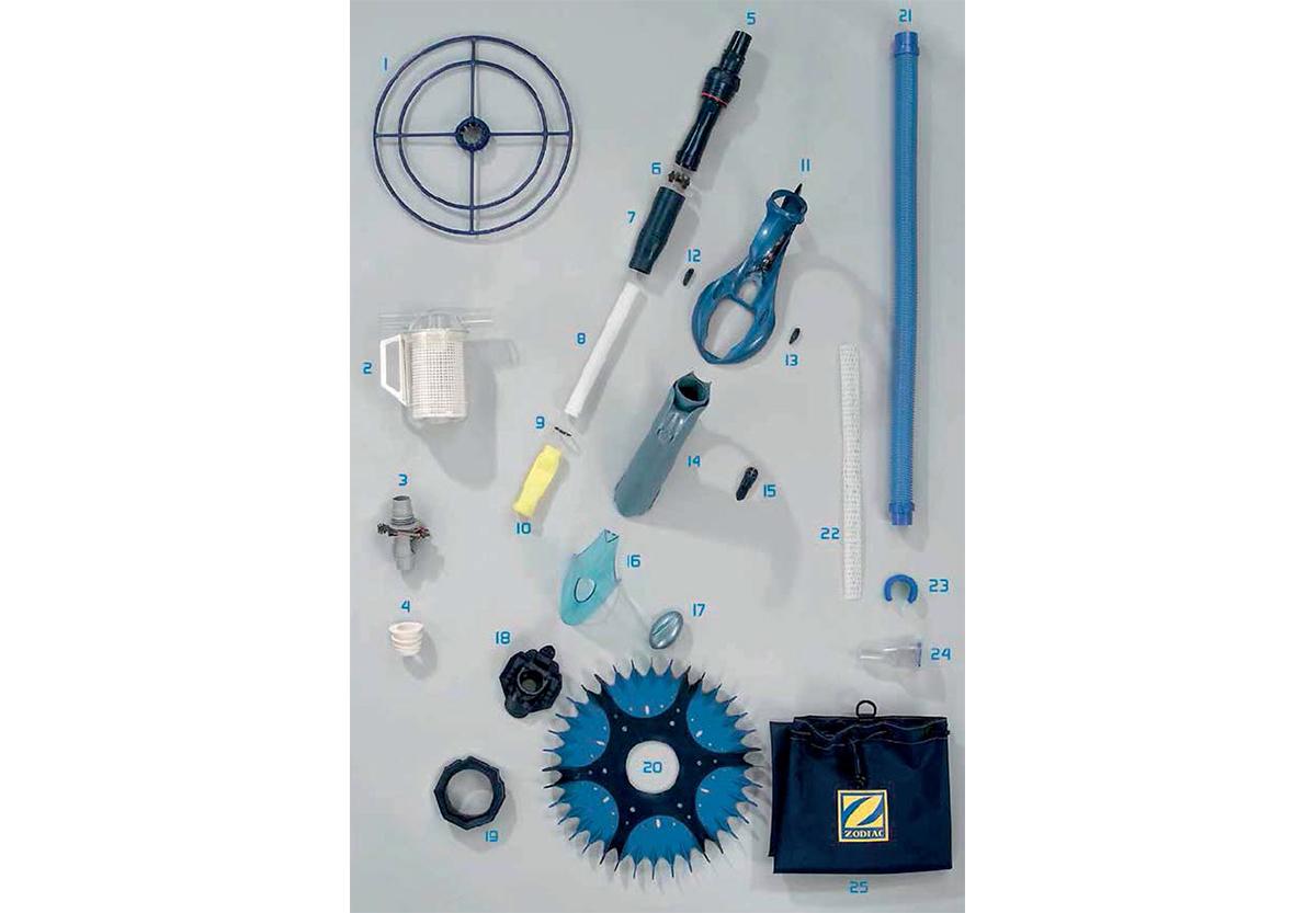 Vente de pi ces d tach es pour robot hydraulique zodiac g4 for Pieces detachees robot piscine zodiac