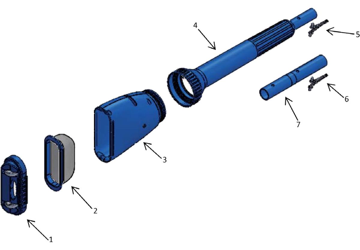 Vente de pièces détachées pour aspirateur Aqua Broom