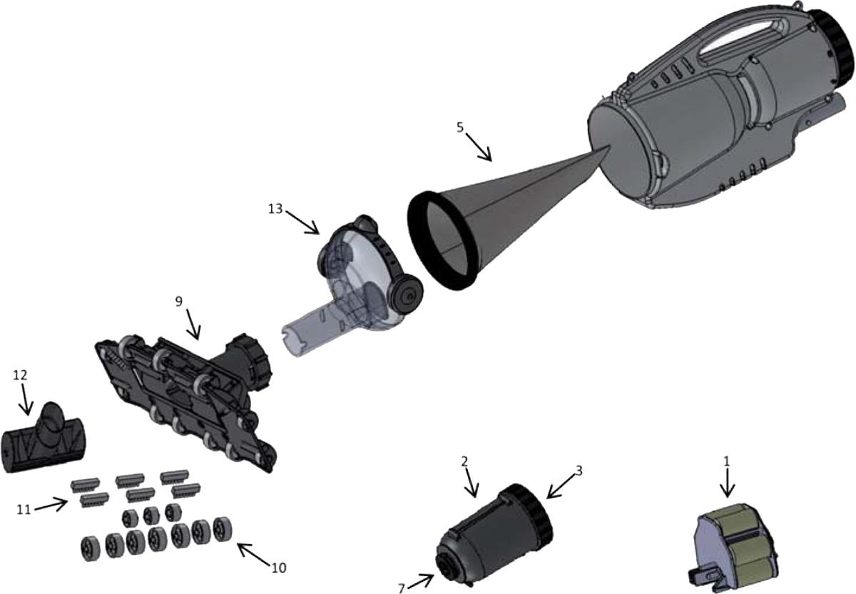 Vente de pièces détachées pour aspirateur de piscine Pool Blaster Pro