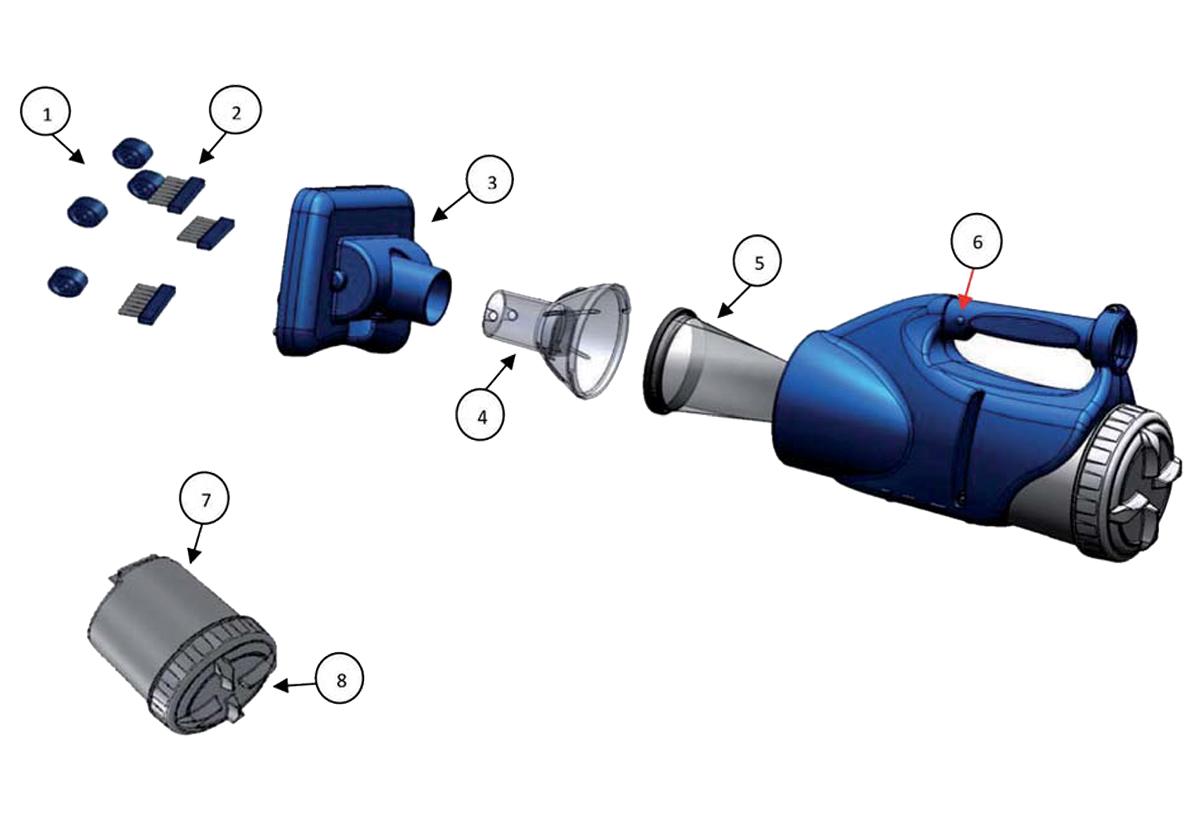 Vente de pièces détachées pour aspirateur Catfish